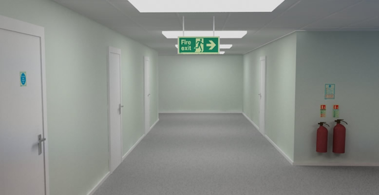 Fire Extinguishers Suitable For Use In Corridors
